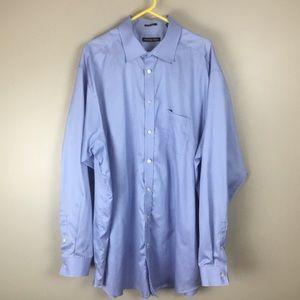 Michael Kors Men's Dress Shirt Blue (18.5-38/39)